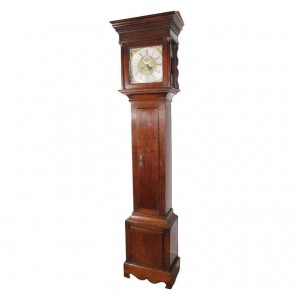 18th Century English Oak Tallcase Clock