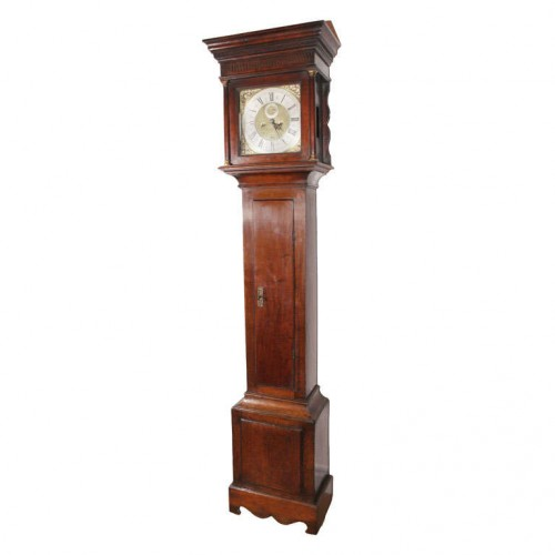 18th Century English Oak Tallcase Clock