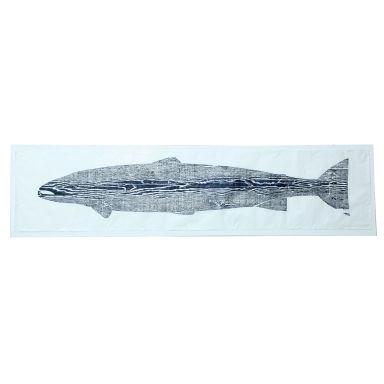 """Tyne Salmon"" by British Artist Julian Meredith"