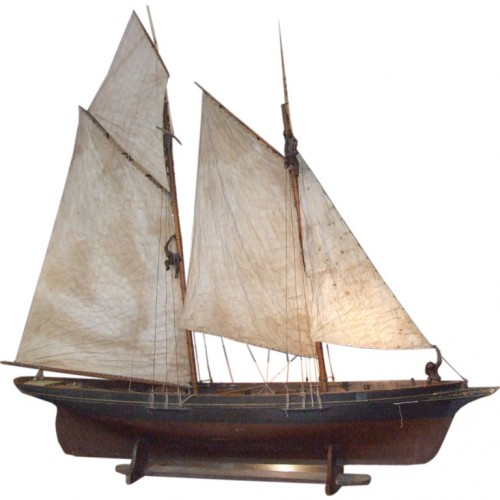 A Wonderful Large-Scale Fully Rigged Sailing Ship Model