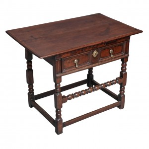 Charles II Oak Side Table