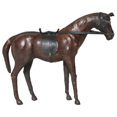 Decorative Leather Horse