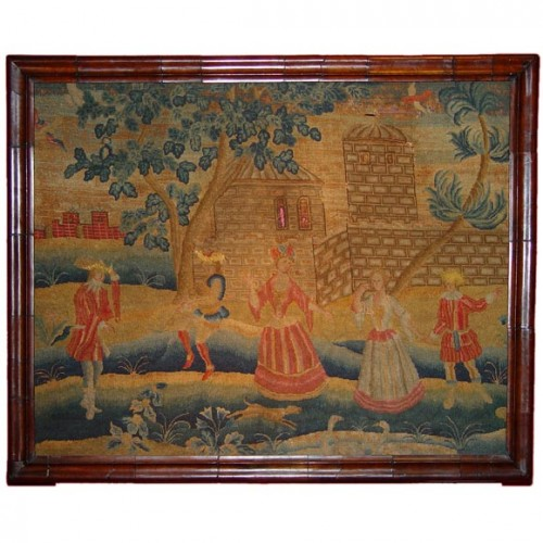 Early Georgian Needlework Picture
