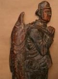 English-Folk-Art-Trade-Sign-with-Untouched-Historic-Surface-Sculpture-6