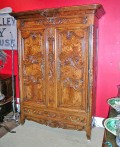 Exceptional-Burl-French-Armoire-dated-1845-1