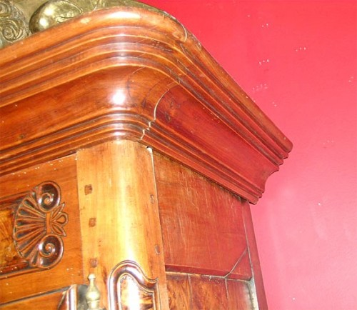 Exceptional-Burl-French-Armoire-dated-1845-2