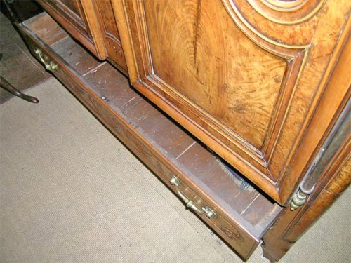 Exceptional-Burl-French-Armoire-dated-1845-5