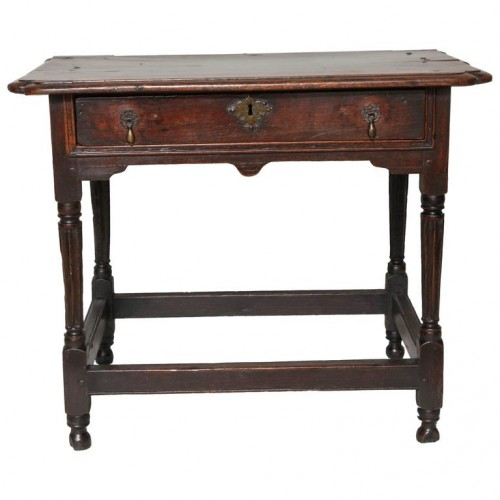 Fine 17th Century English Side Table