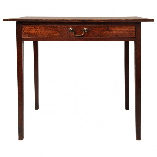 Fine George III Mahogany Side Table