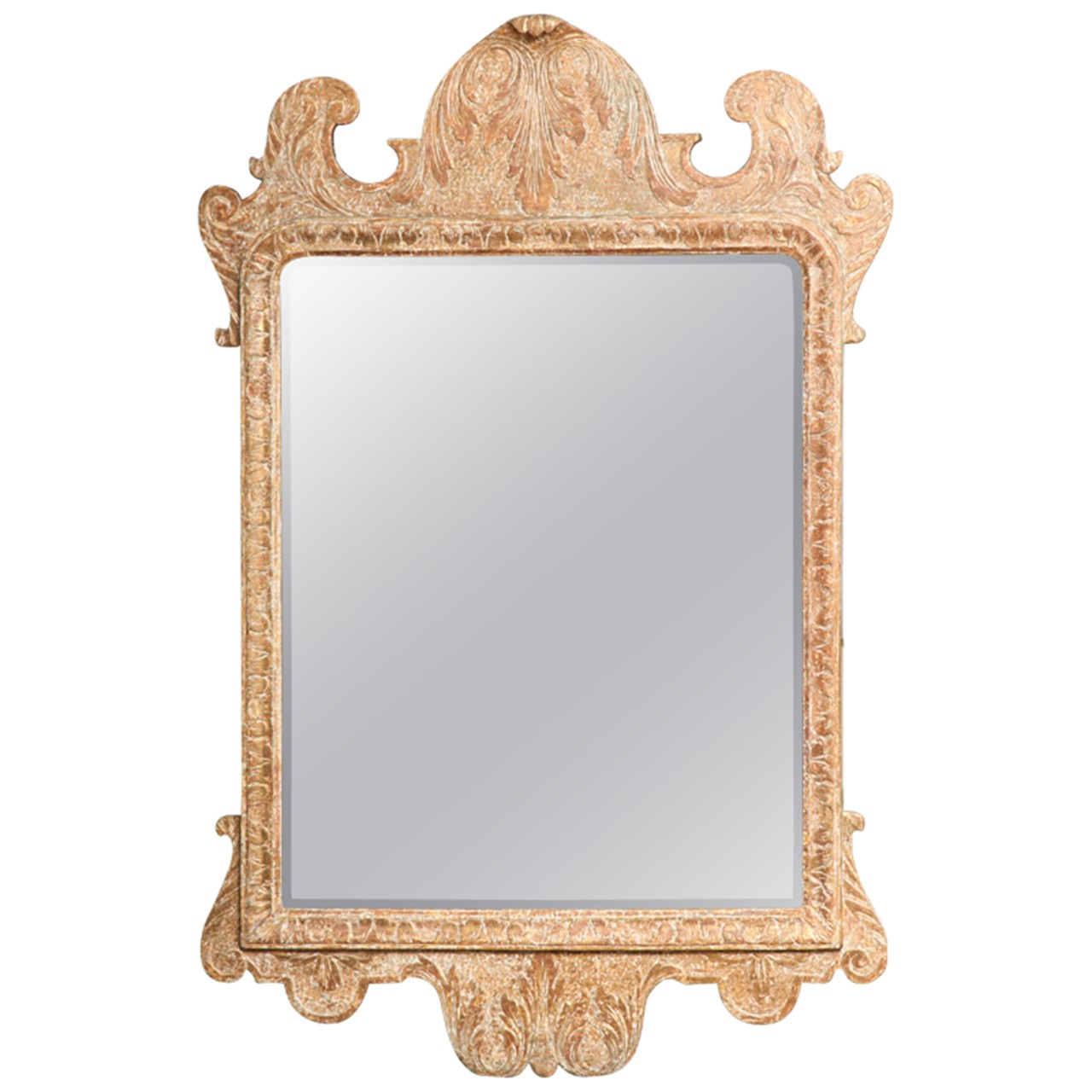George I Carved Gesso Gilt Mirror