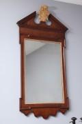 George-II-Plum-Pudding-Mahogany-and-Parcel-Gilt-Mirror-1