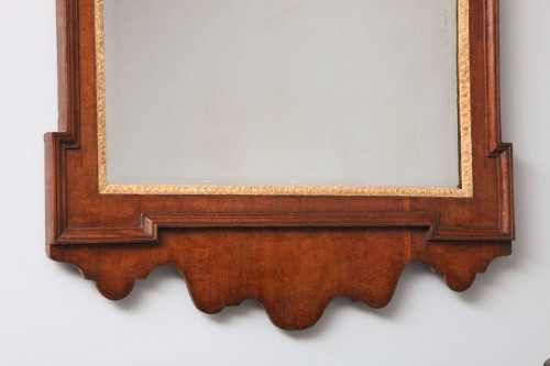 George-II-Plum-Pudding-Mahogany-and-Parcel-Gilt-Mirror-3