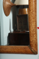 Grain-Painted-Simulated-Burl-Maple-Framed-Mirror-2