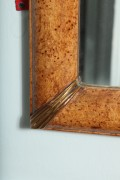 Grain-Painted-Simulated-Burl-Maple-Framed-Mirror-5