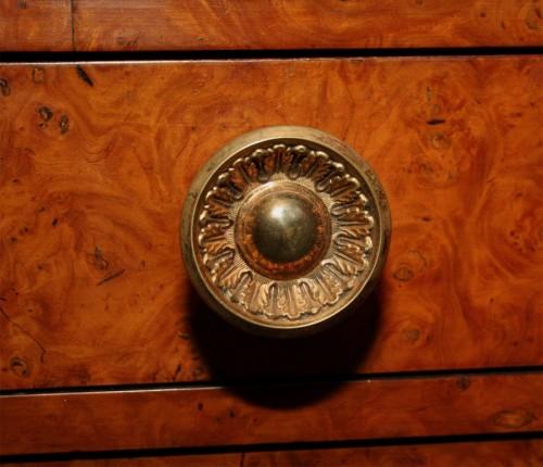 Neoclassical-Burlwood-Bookcase-Cabinet-4