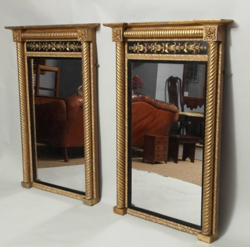 Pair-of-Neoclassical-Pier-Mirrors-9