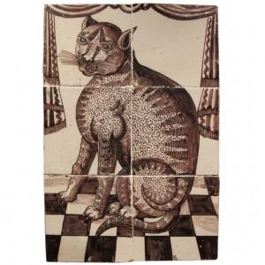 Rare Delft Tile Picture