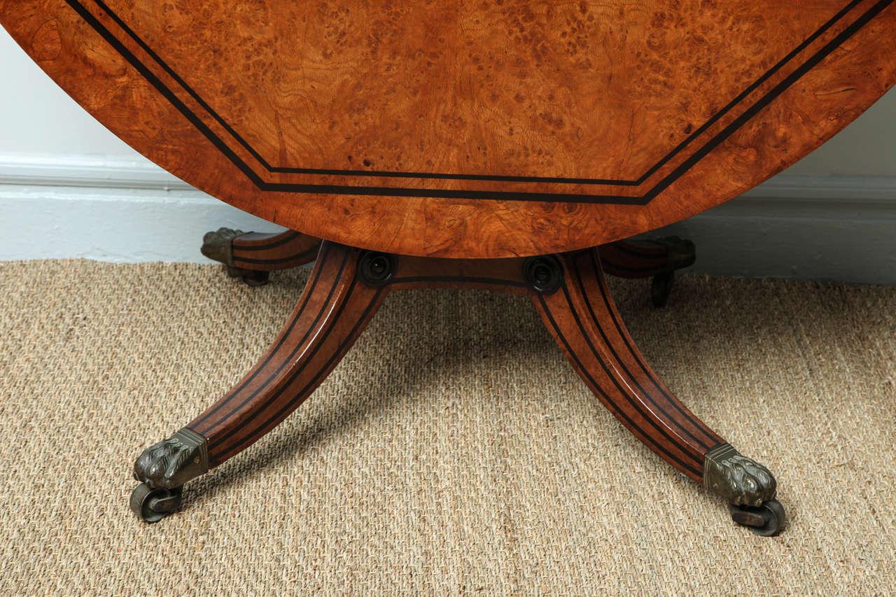 ... Regency Burr Oak Breakfast Table 3 ...