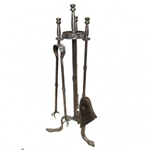 Set of Cotswold School Firetools and Stand
