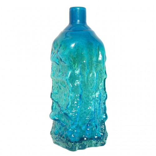 Studio Glass Bottle Vase Designed by Michael Harris