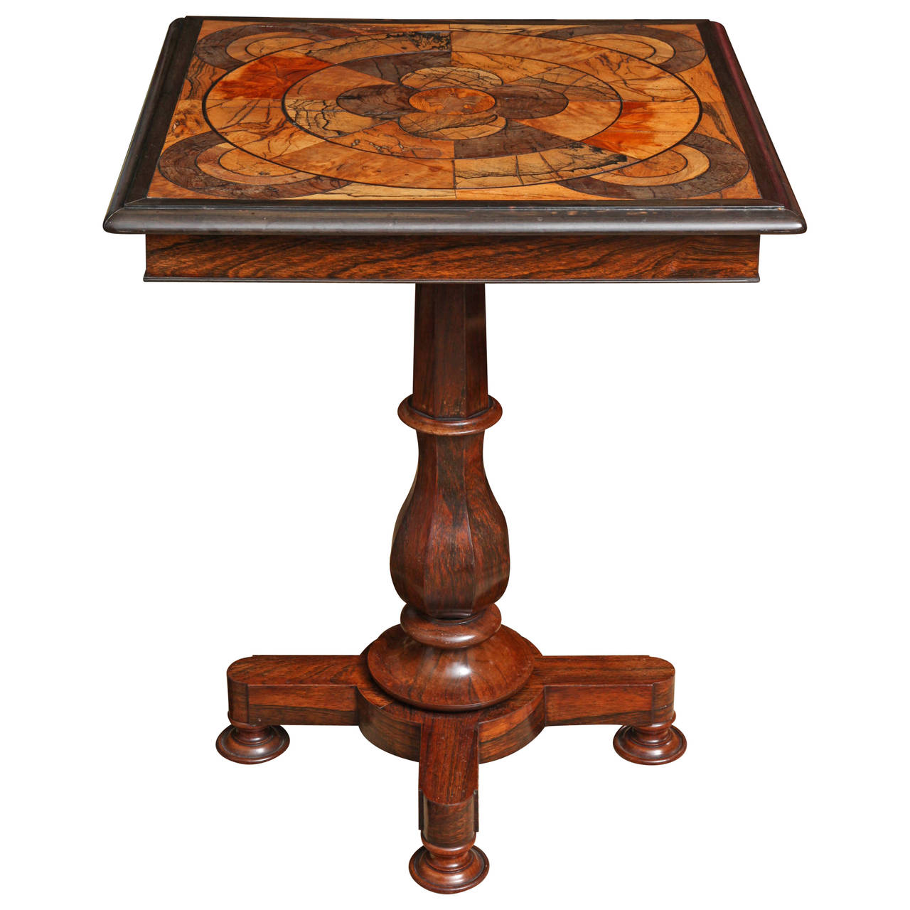 William IV Specimen Wood Table